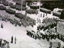 Brisbane, Queensland, c.1944. A parade through the streets of Brisbane