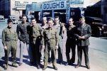 American soldiers in Charlotte Street, Brisbane, ca. 1942.